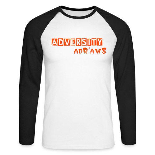 adR'awS Special Noel - T-shirt baseball manches longues Homme