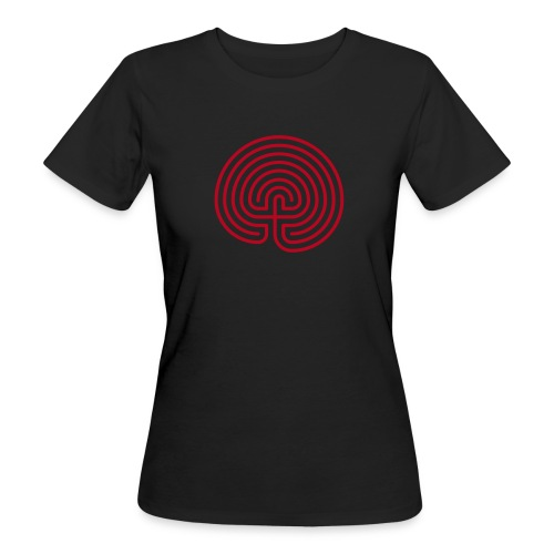Labyrinth - Frauen Bio-T-Shirt