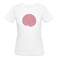 T-Shirts ~ Frauen Bio-T-Shirt ~ Labyrinth