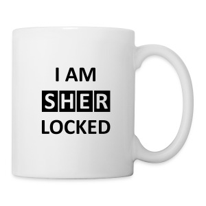 I am sherlocked - Tasse