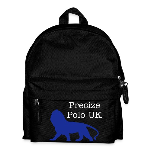 Precize Polo 'Small Bag' (Black With Blue) - Kids' Backpack