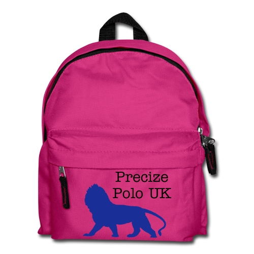 Precize Polo 'Small Bag' (Pink With Blue) - Kids' Backpack