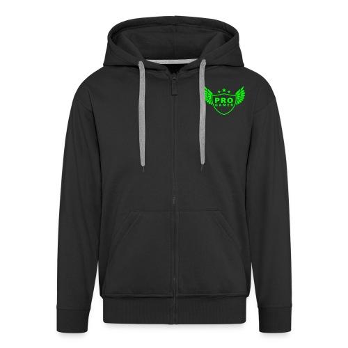 Green Gaming hætte trøje - Herre premium hættejakke
