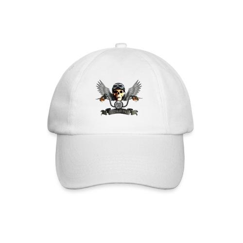 Biker Cap weiß - Baseballkappe