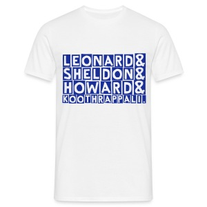 big bang theory (M) - Men's T-Shirt
