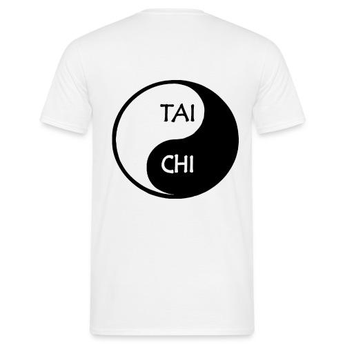 TaiChi Gross Rücken - Männer T-Shirt