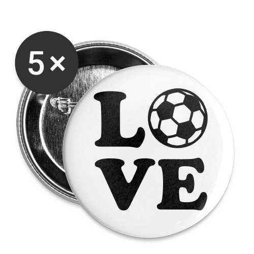 Buttons - Soccer - Buttons klein 25 mm