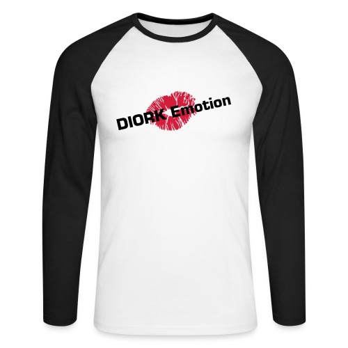 DIORK Emotion - T-shirt baseball manches longues Homme