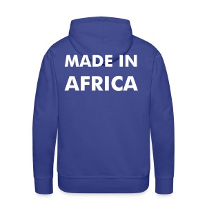 Made in Africa - Sweat-shirt à capuche Premium pour hommes