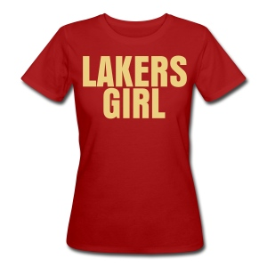 Lakers Girl - Women's Organic T-shirt