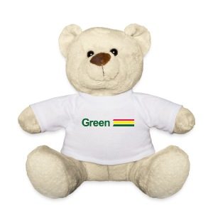 Ours Peluche green - Nounours