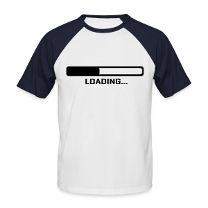 Loading - Männer Baseball-T-Shirt