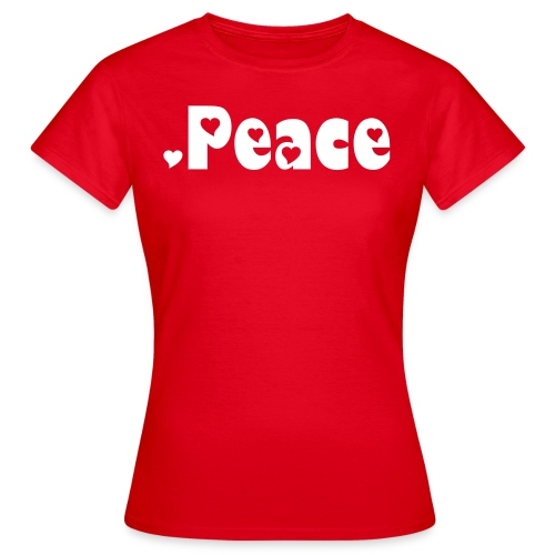 Peace.Girls - Frauen T-Shirt
