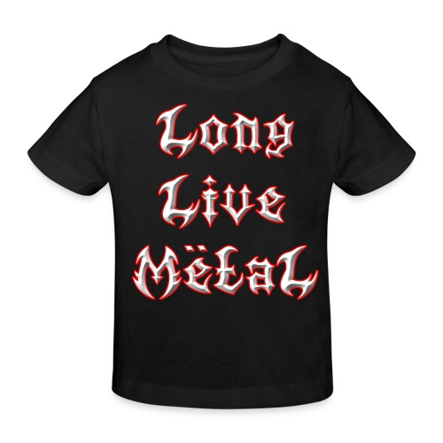 Long Live Metal Kids T-Shirt - Kids' Organic T-Shirt