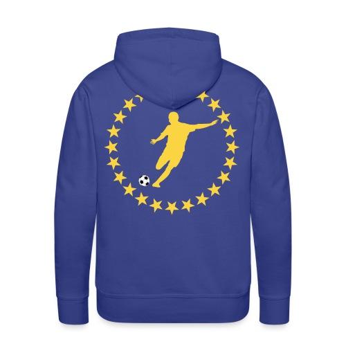 Sweatshirt football design - Men's Premium Hoodie