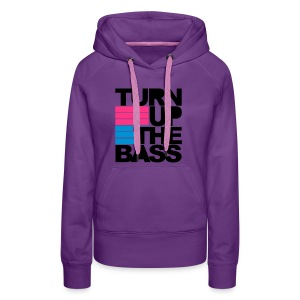 Turn up - Frauen Premium Hoodie