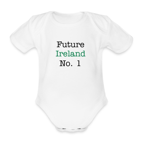 future ireland no1 aio - Organic Short-sleeved Baby Bodysuit