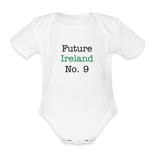 future ireland no9 aio - Organic Short-sleeved Baby Bodysuit