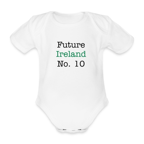 future ireland no10 aio - Organic Short-sleeved Baby Bodysuit