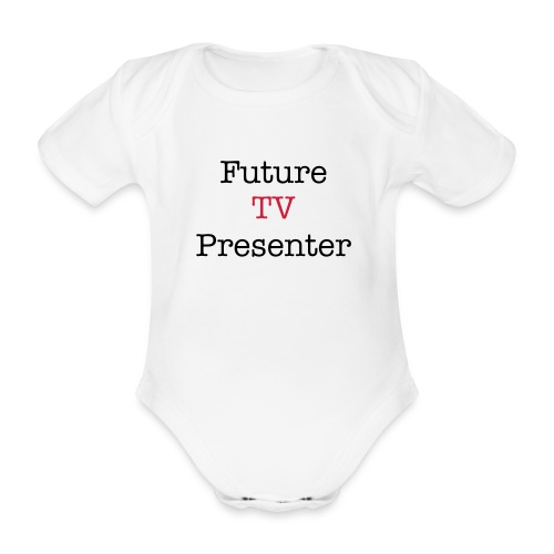 future f1 star aio - Organic Short-sleeved Baby Bodysuit