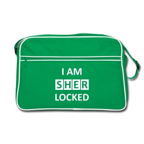 I am sherlocked - Retro Tasche