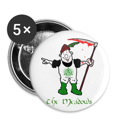 Buttons klein Meadows classic 5er Pack  - Buttons klein 25 mm (5er Pack)