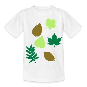 Leaves - Teenage T-shirt
