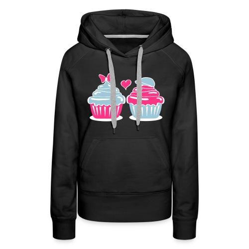 Cupcakes in Love - Frauen Premium Hoodie