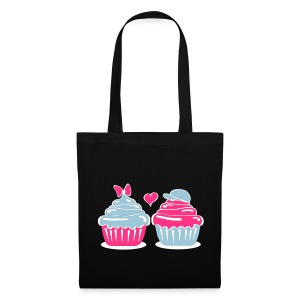 Cupcakes in Love - Stoffbeutel