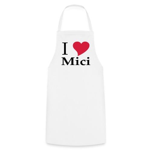 Schürze I Love Mici - Das Nationalgericht in Rumänien - Kochschürze