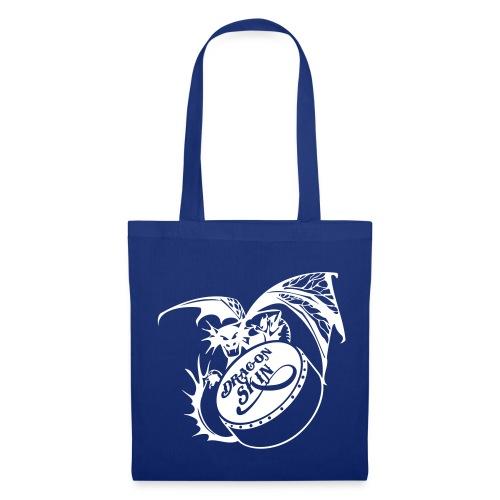 bodhránplayerBag white dragon  - Tote Bag