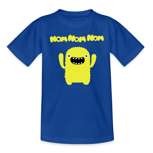 OM NOM - Teenager T-Shirt