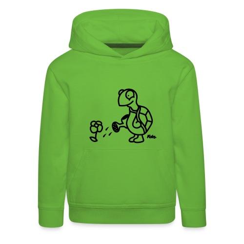 Tartaruga - Felpa con cappuccio Premium per bambini