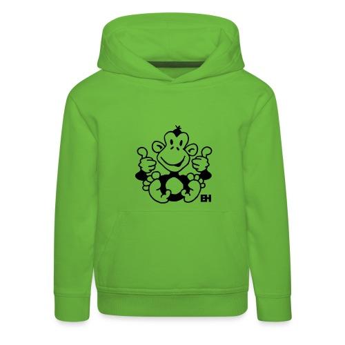 Scimmietta - Felpa con cappuccio Premium per bambini