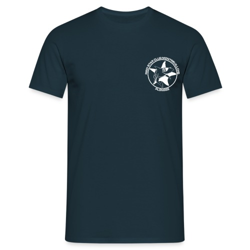 Tshirt Homme Bleu marine - T-shirt Homme