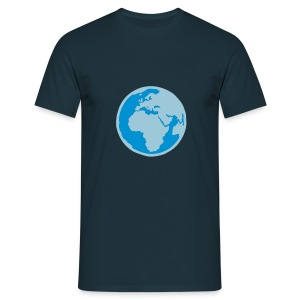 Blue planet - T-shirt Homme