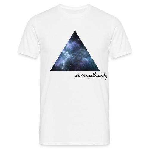 simplicity - Männer T-Shirt