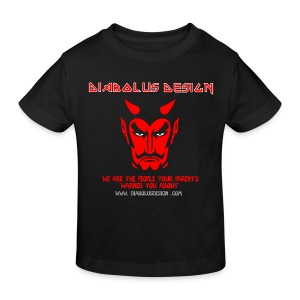 Kids Diabolus Design T-Shirt - Kids' Organic T-shirt