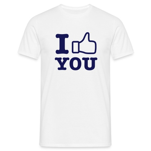 I 'LIKE' You - Männer T-Shirt