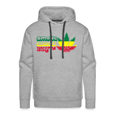 smoke weed every day Hoodies & Sweatshirts