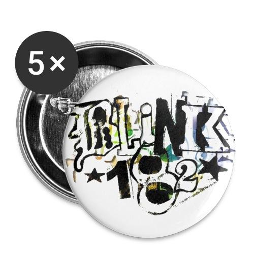 spilla blink 182 - Confezione da 5 spille piccole (25 mm)