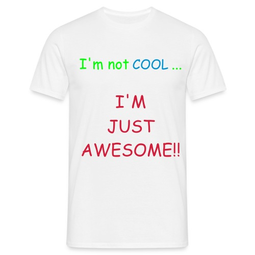 Awesome T-shirt Men - Mannen T-shirt