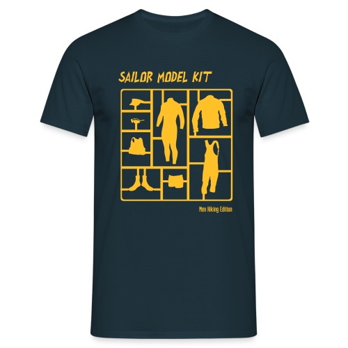 Sailor Model Kit - Men HIking Edtion Boys Tee - Männer T-Shirt