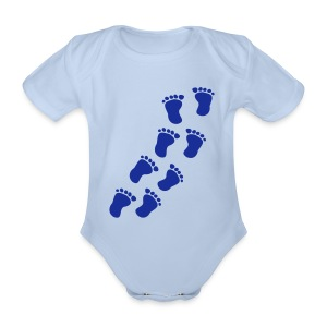 f - Organic Short-sleeved Baby Bodysuit
