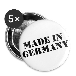 MADE IN GERMANY - Buttons groß 56 mm