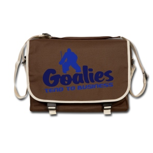 Goalies Tend To Business Shoulder Bag - Shoulder Bag
