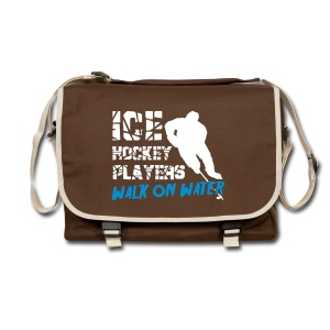 Ice Hockey Players Walk On Water Bag - Shoulder Bag