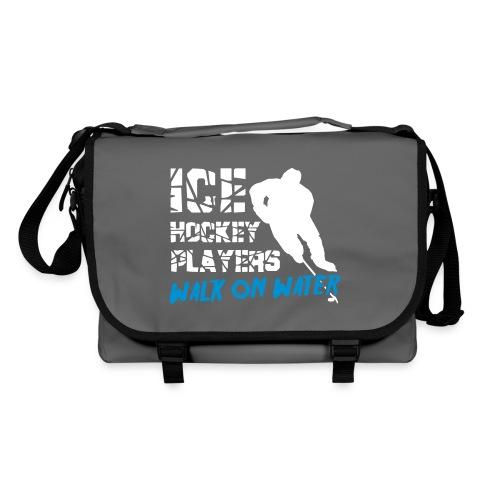 Ice Hockey Players Walk On Water Bag - Shoulder Bag