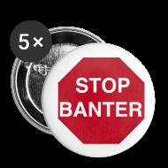 Buttons ~ Buttons medium 32 mm ~ STOP BANTER Buttons - Medium