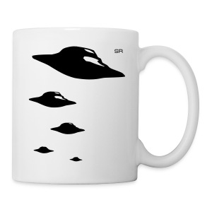 Mug flying saucers - Tasse